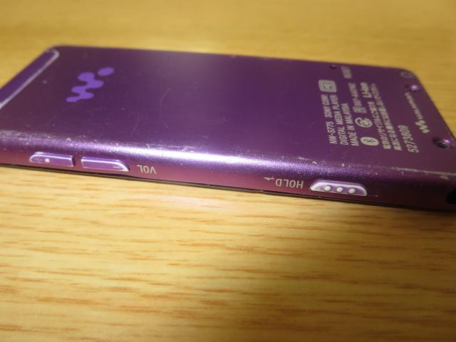 1円~最落無ソニーウォークマン NW-S775 人気のバイオレット 大容量16GB_画像6