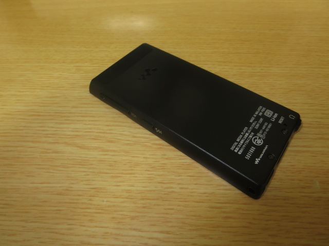 1円~美品最落無 ソニーウォークマン NW-F805 ブラック 16GB 訳あり_画像5
