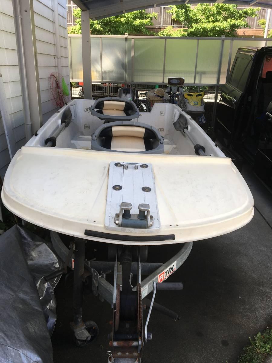 ホープボート 8馬力 3人乗り_画像2