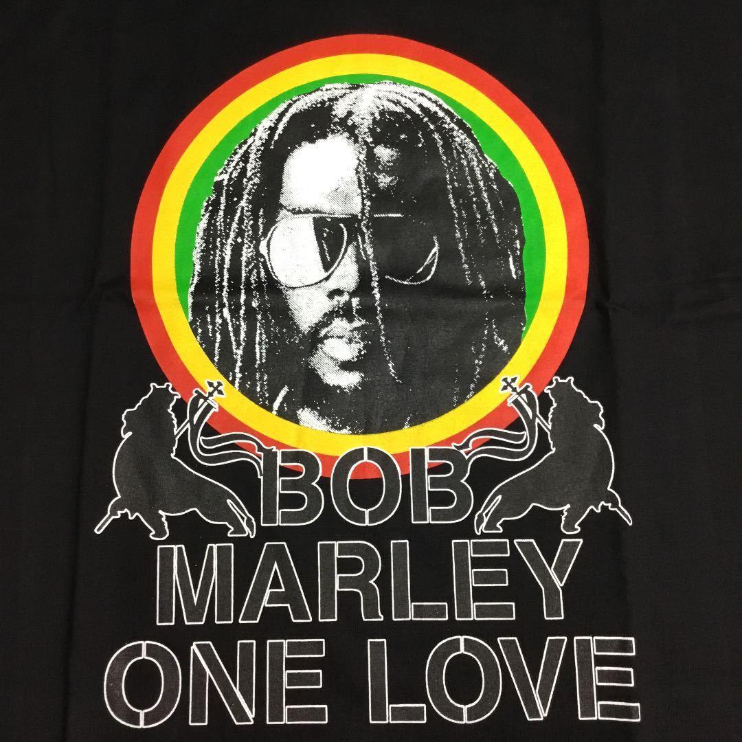 両面プリントバンドデザインビッグサイズ Tシャツ XXXL ボブマーリー BOB MARLEY ② SR1A3