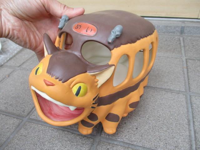 1点限り! となりのトトロ 蚊取り線香 ネコバス 猫バス 陶器 宮崎駿 ジブリ_画像9