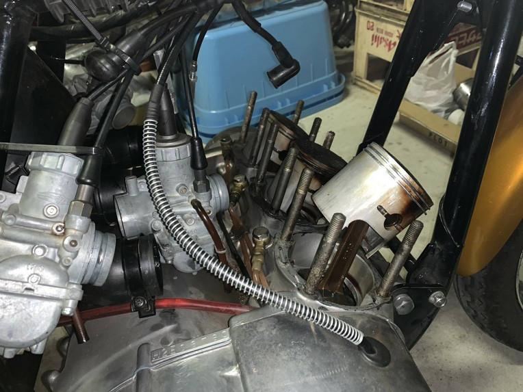 超極上!マッハ750SS/フルレストア/H2/希少1972年/初期/32番違いエンジンマッチング/8000番台/エンジンOH済/ノーマル/純正/当時物/超美車_フレーム全バラから組み上げています!