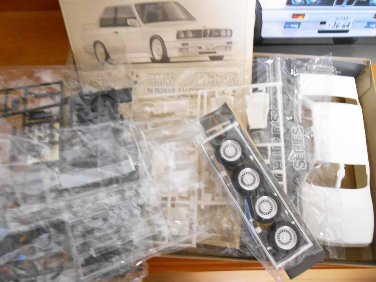 希少 Fujimi フジミ模型株式会社 1/24スケール  BMW M325i M POWER 2.3l DOHC 16 VALVE(全揃い)_画像5