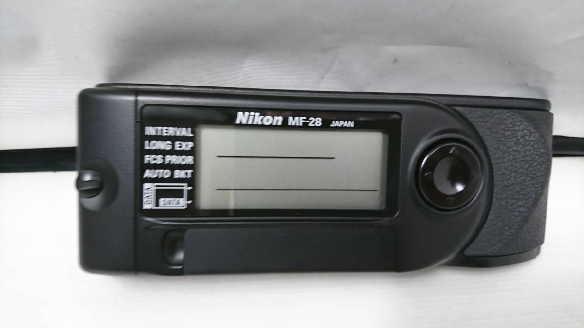 B115 Nikon ニコン F5用 MF-28 マルチコントロールバック 新品未使用 1円スタート