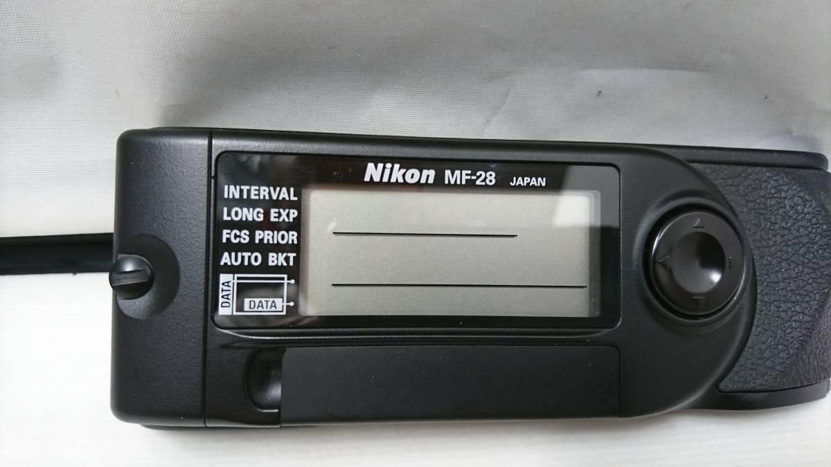B115 Nikon ニコン F5用 MF-28 マルチコントロールバック 新品未使用 1円スタート_画像3