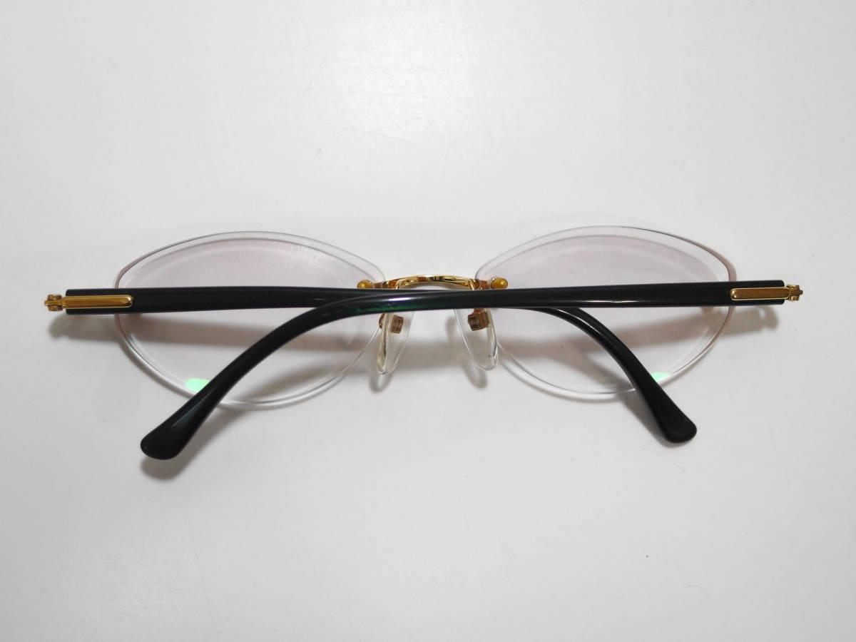 【CITIZEN★シチズン】K18金無垢ツーポイント眼鏡★1094】_画像2