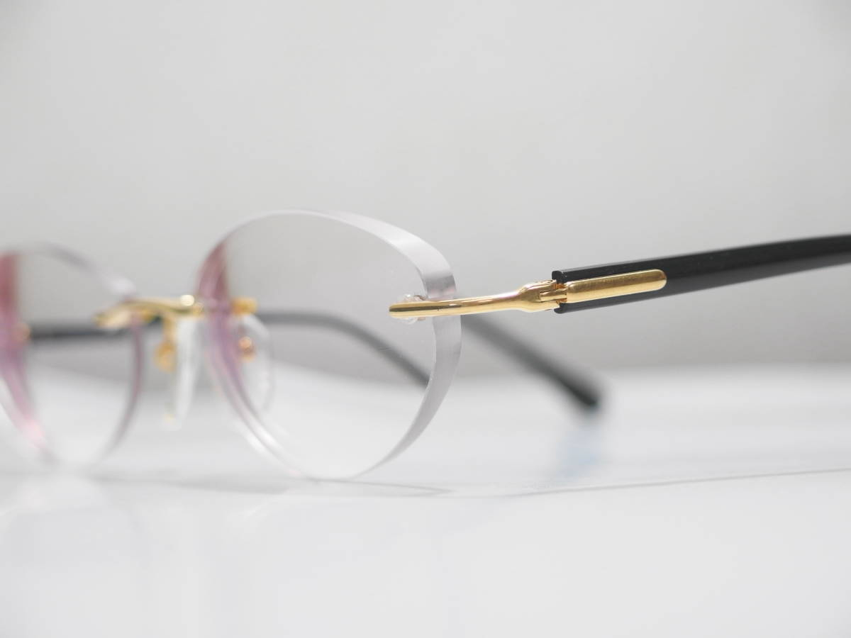 【CITIZEN★シチズン】K18金無垢ツーポイント眼鏡★1094】_画像6