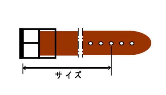 5ミリ厚ヌメ革ベルト(オーダーメイド,ギャリソンベルト)_画像3