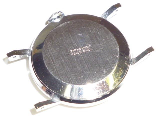 50s ビンテージ RENOWN 腕時計 手巻き ウォッチ スイス製 ミリタリー ダイヤル スモールセコンド スモセコ 機械式 稼働品 美品_画像8