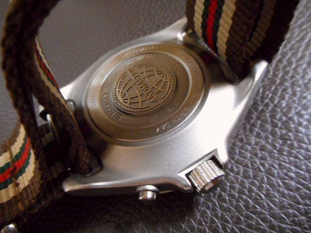 希少 セイコー ランドマスター キネティック SEIKO SBCW001 チタン メーカー保証約8ヶ月 美品_画像5
