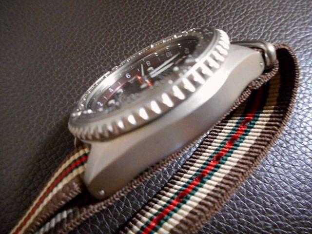希少 セイコー ランドマスター キネティック SEIKO SBCW001 チタン メーカー保証約8ヶ月 美品_画像4