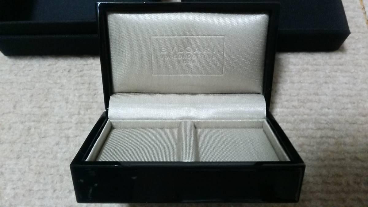 quality design 662f8 d800d ブルガリ BVLGARI ペア リングケース 指輪ケース 空箱 美品
