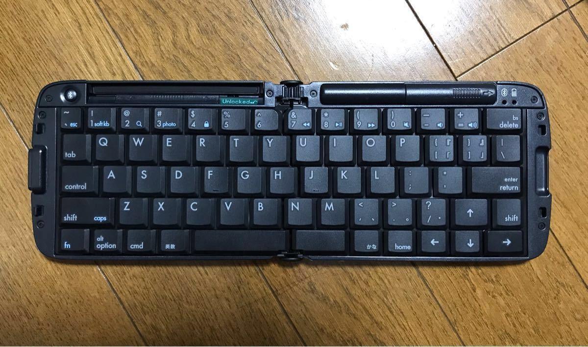 リュウド REUDO 折りたたみ式ワイヤレスキーボード Bluetooth RBK-3200BTi _画像2