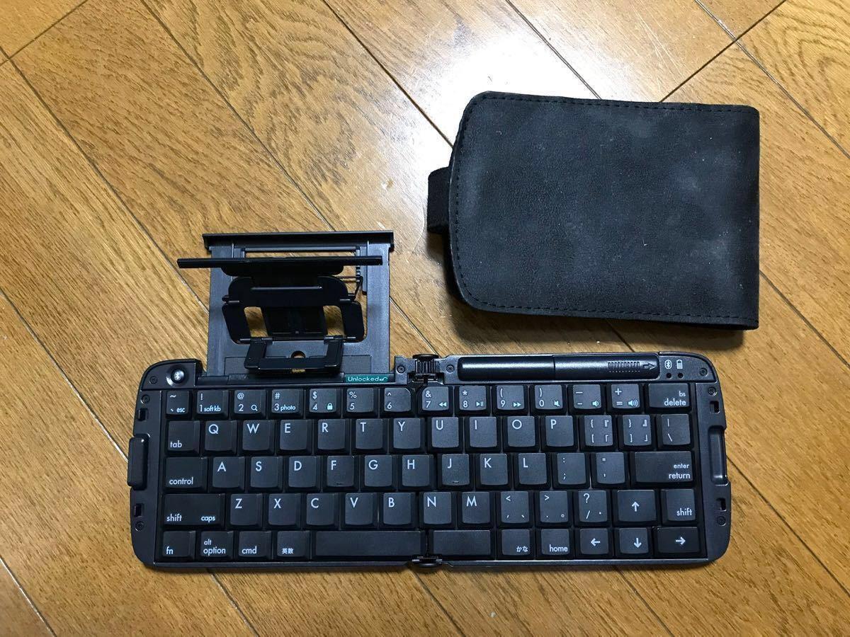 リュウド REUDO 折りたたみ式ワイヤレスキーボード Bluetooth RBK-3200BTi
