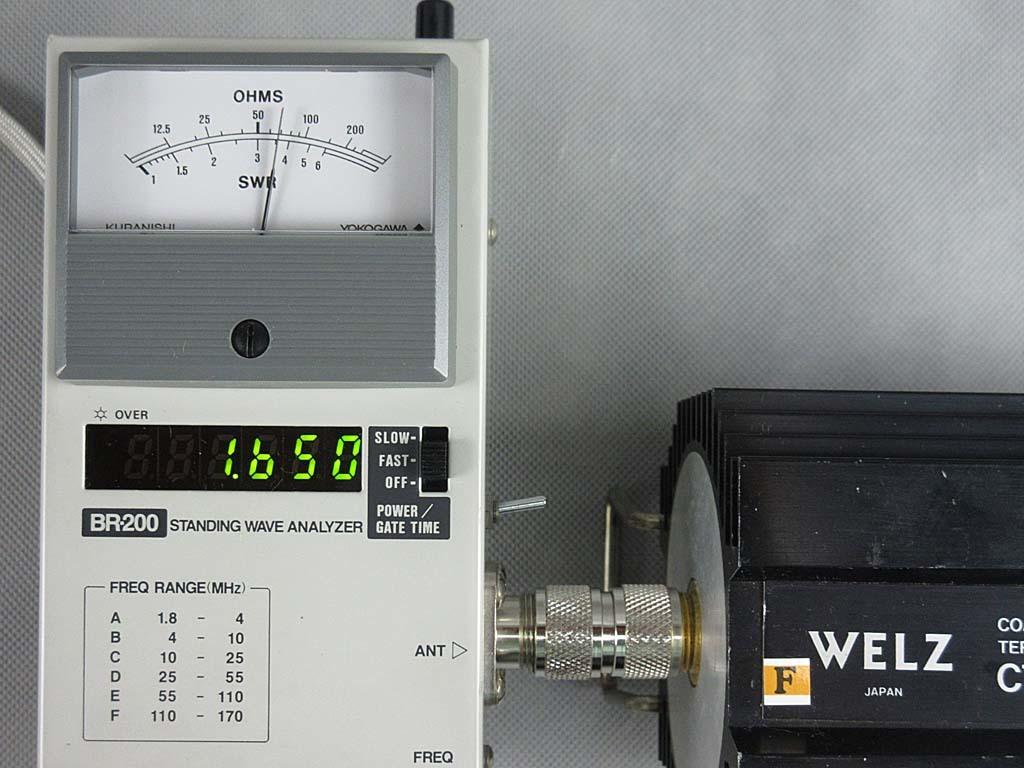 OHMSで測定しています。