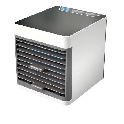 卓上扇風機 ポータブルエアコン ミニエアコン クーラー加湿器 清浄機 カラフルな Led ライト 空冷ファン_画像2