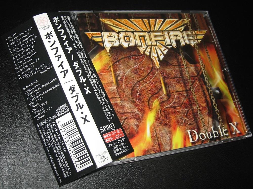 レア帯!BONFIRE / DOUBLE X ◆ ボンファイア / ダブル・X