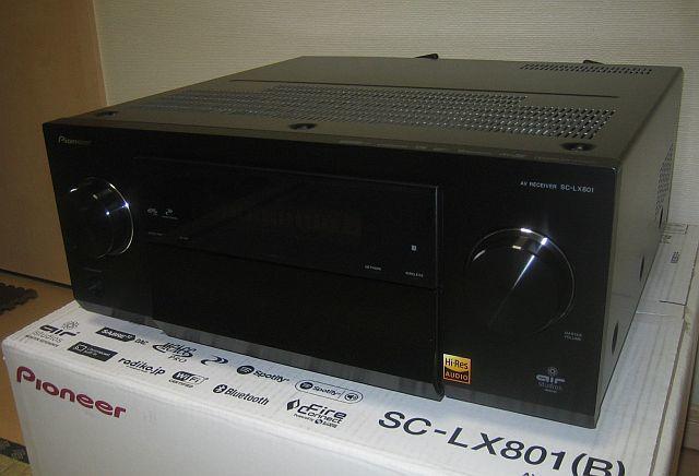 Pioneer SC-LX801 (美品) 9ch AVアンプ_画像2