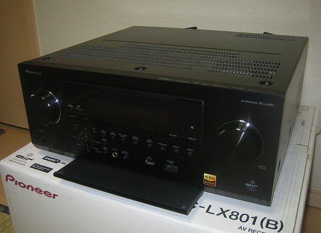 Pioneer SC-LX801 (美品) 9ch AVアンプ_画像3
