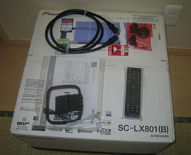 Pioneer SC-LX801 (美品) 9ch AVアンプ_画像4