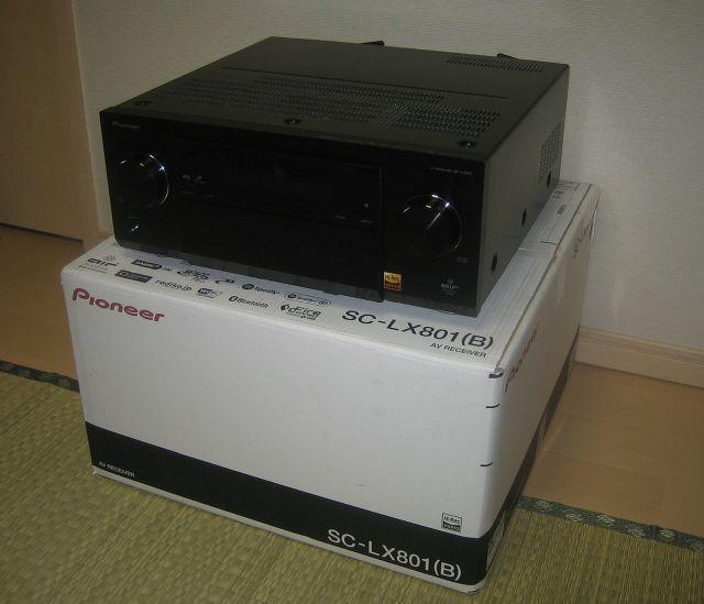 Pioneer SC-LX801 (美品) 9ch AVアンプ