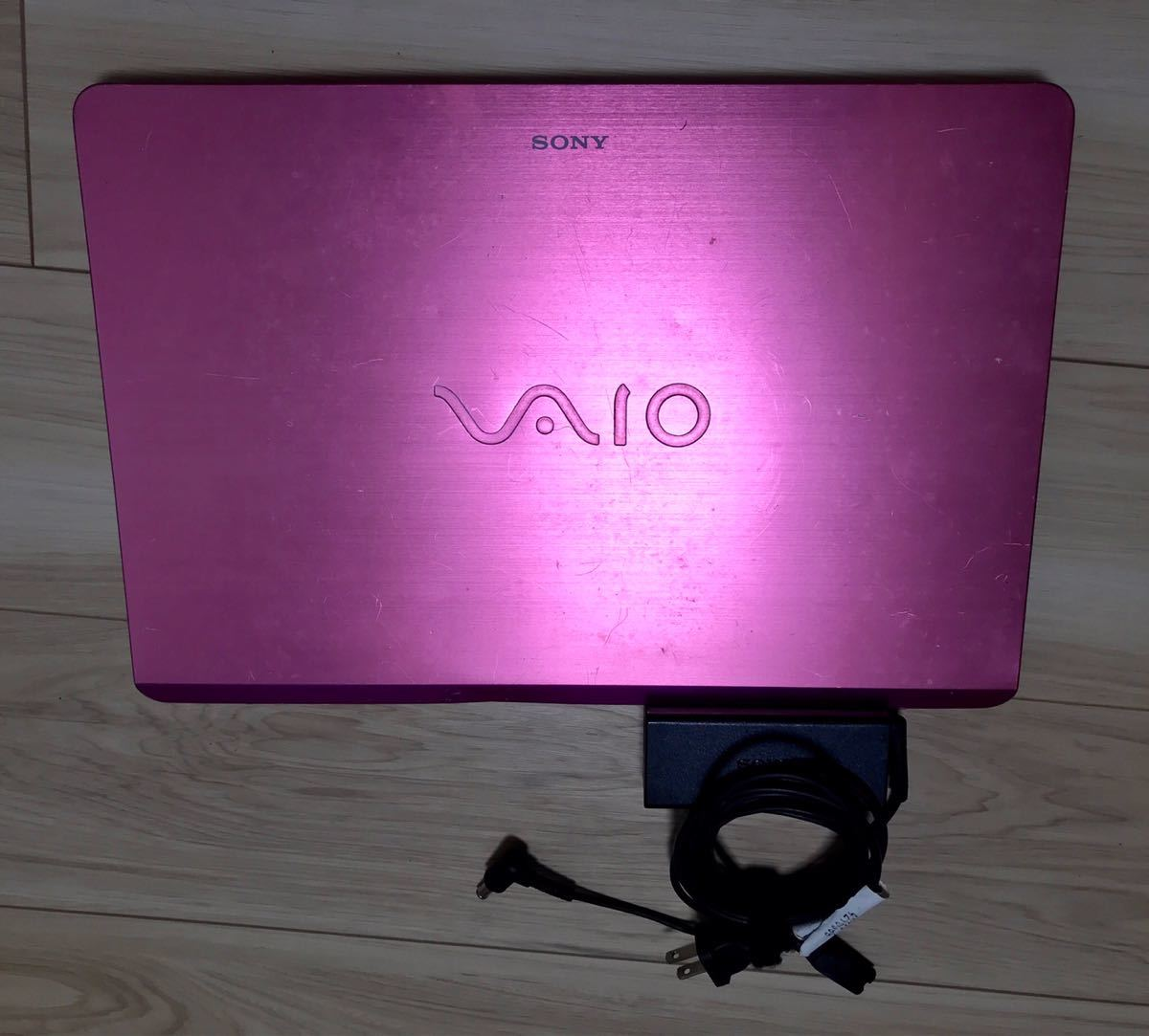 SONY VAIO FIT15 SVF15A18CJP ソニー ノートパソコン PC ジャンクピンク SSD タッチパネル_画像9