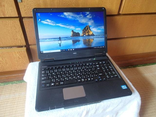 完動品Core i5-3210M/NEC VersaPro/メモリ4GB/HDD300GB/Microsoft Office