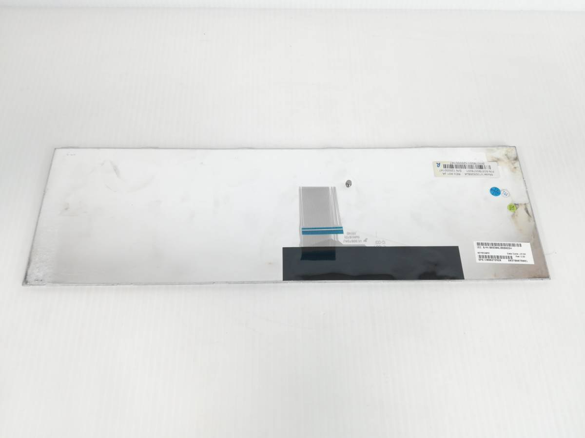p467◇◆中古 東芝 dynabook Satellite B252 B352 B452 テンキー付き 日本語キーボード ホワイト 6037b0078001_画像6