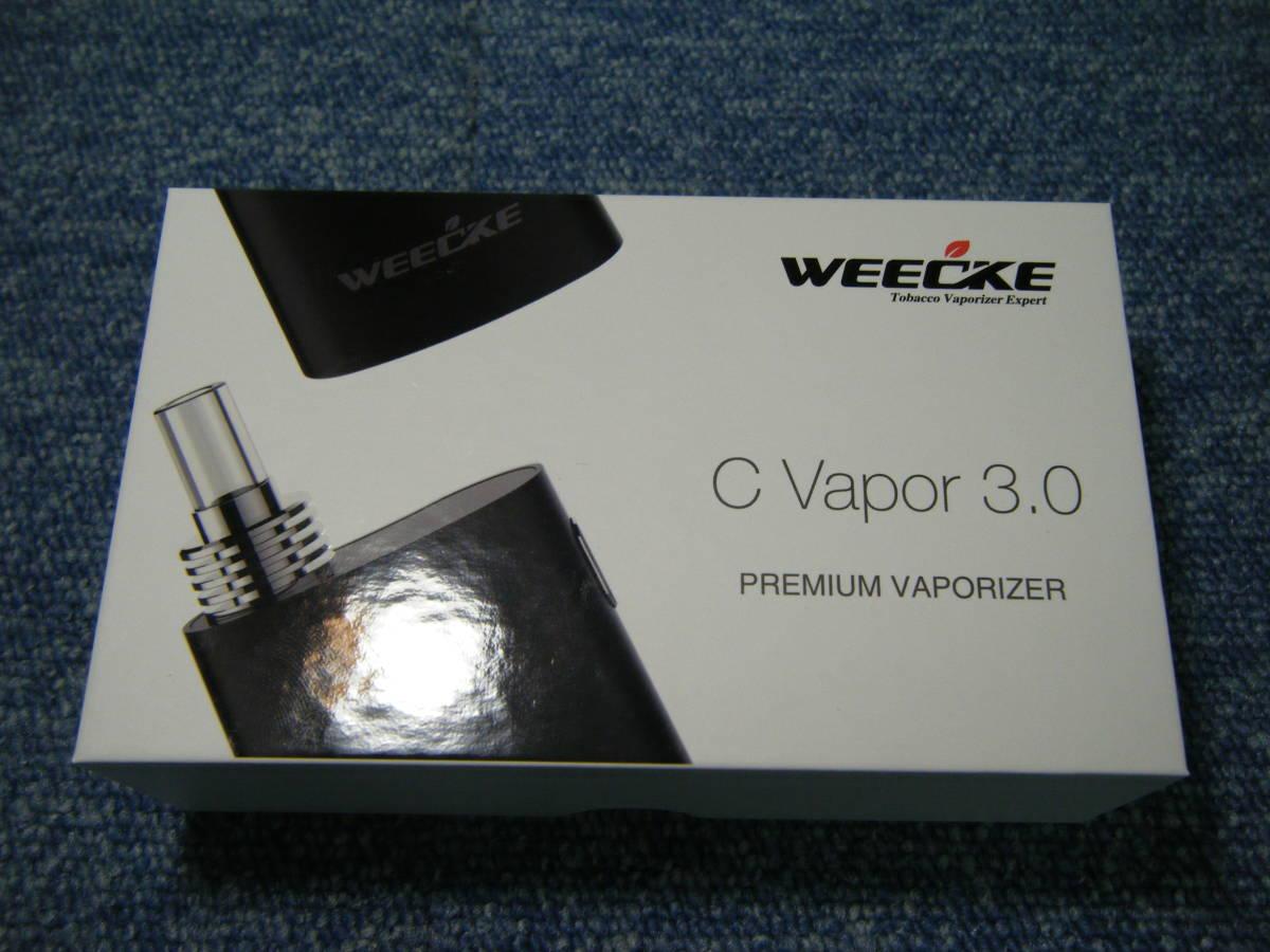 YI キ7-85 WEECKE ウィーキー C-VAPOR3.0 加熱式タバコ ヴェポライザー 葉タバコ 【中古品・S60】_画像8