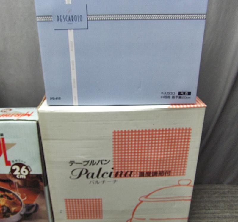 RSき7-86 キッチン用品 まとめ 圧力鍋(理研)/タジン鍋/グリルパン/土鍋など_画像5