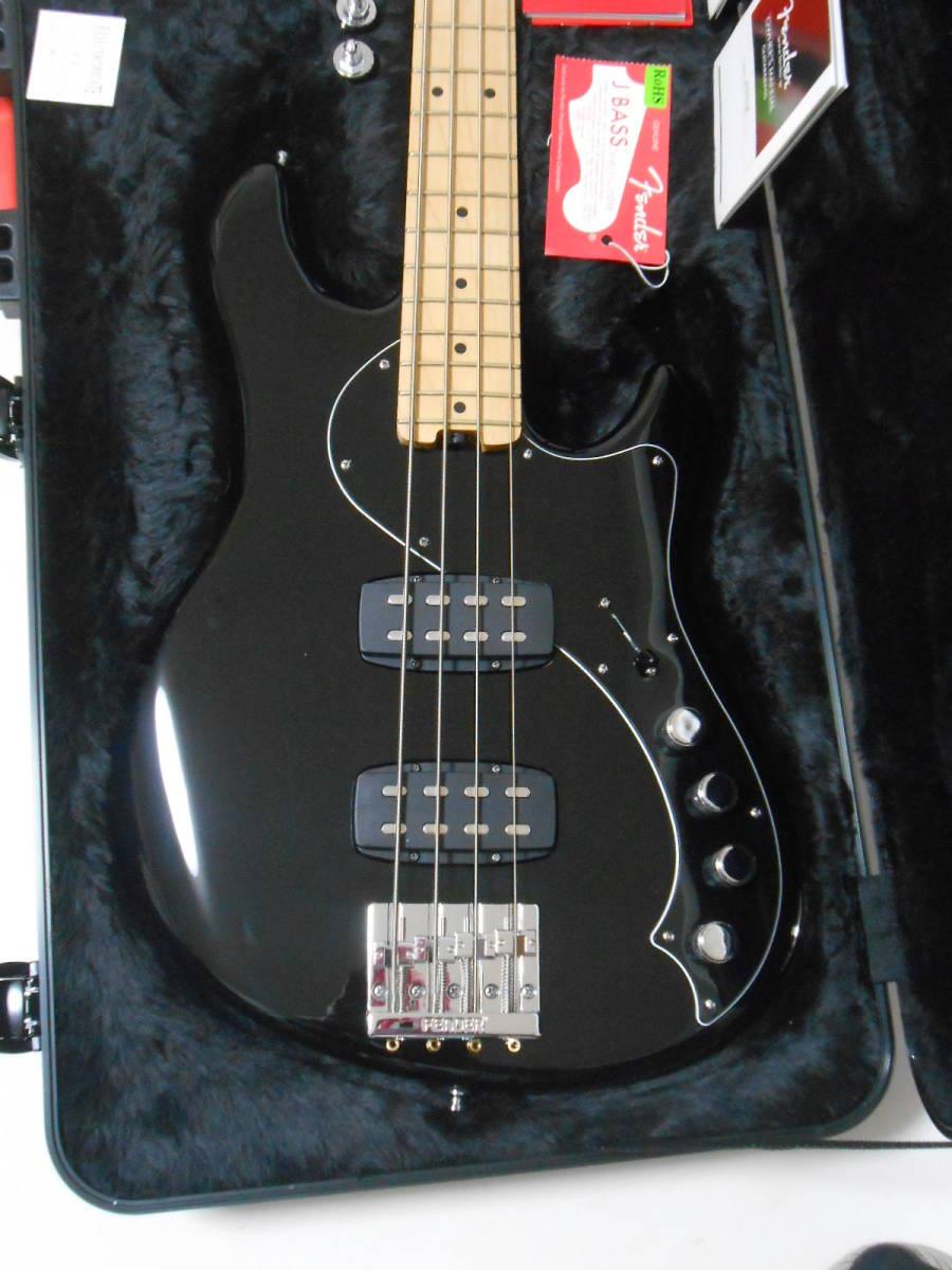 ★定価28万円 2013年製 Fender USA American Deluxe Dimention Bass HH 3Band EQ搭載 2ハムバッカー 純正ハードケース付_画像2