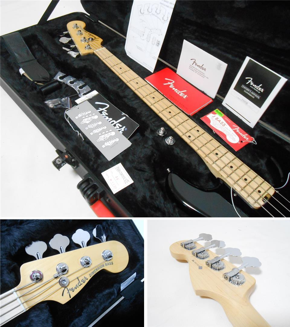 ★定価28万円 2013年製 Fender USA American Deluxe Dimention Bass HH 3Band EQ搭載 2ハムバッカー 純正ハードケース付_画像3