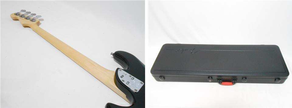 ★定価28万円 2013年製 Fender USA American Deluxe Dimention Bass HH 3Band EQ搭載 2ハムバッカー 純正ハードケース付_画像10