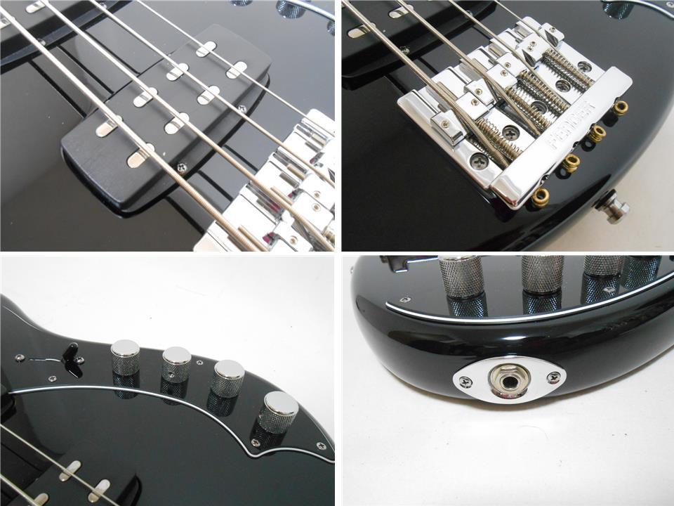 ★定価28万円 2013年製 Fender USA American Deluxe Dimention Bass HH 3Band EQ搭載 2ハムバッカー 純正ハードケース付_画像5