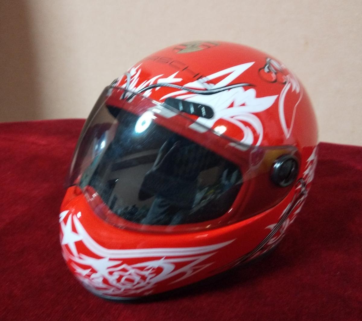 gasumaruレーサーレプリカ バイク ヘルメット 猫 ペット_画像2