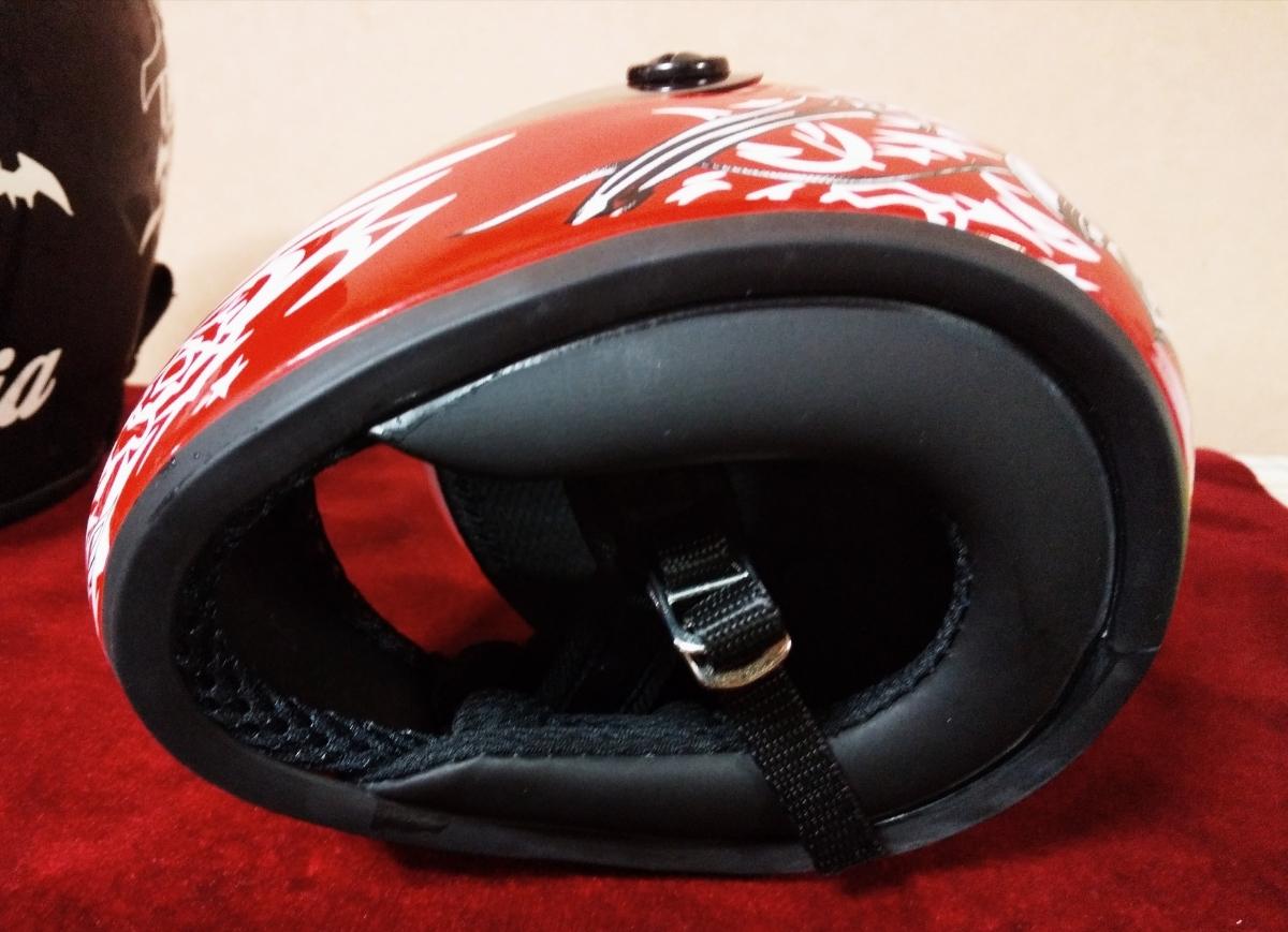 gasumaruレーサーレプリカ バイク ヘルメット 猫 ペット_画像4