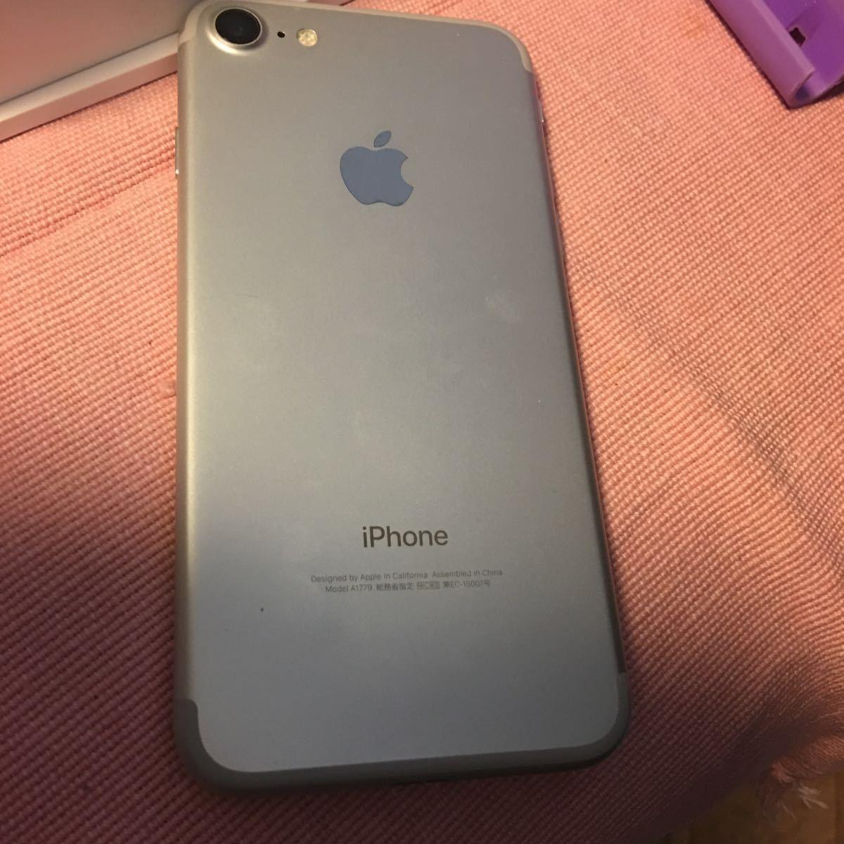 美品 iPhone7 32GB au シルバー_画像2