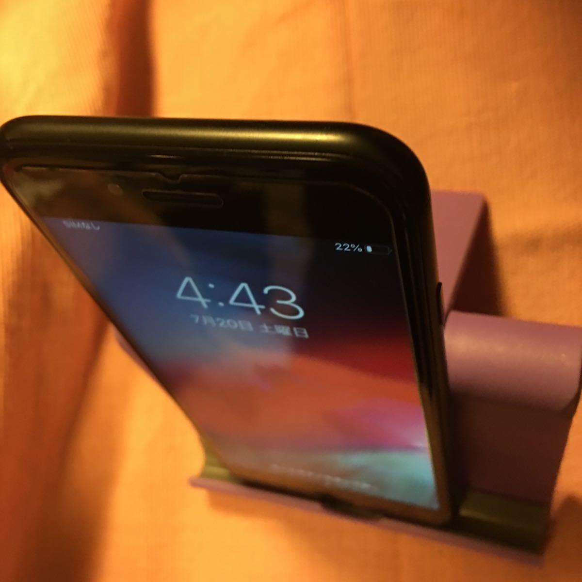 美品 iPhone7 32GB ブラック #02_画像2