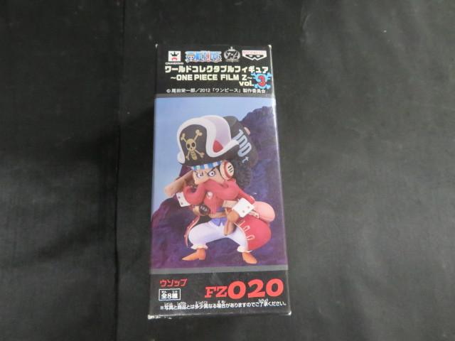 ol083 ワンピース コレクタブルフィギュア ~ONE PEACE FILM Z~ vol.3 ウソップ FZ020 未開封品