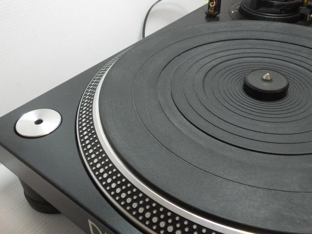 ★ ターンテーブル レコードプレーヤー DENON デノン DP-DJ100 カートリッジ SURE ME95ED付_画像8