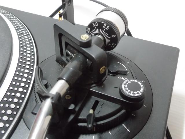 ★ ターンテーブル レコードプレーヤー DENON デノン DP-DJ100 カートリッジ SURE ME95ED付_画像7