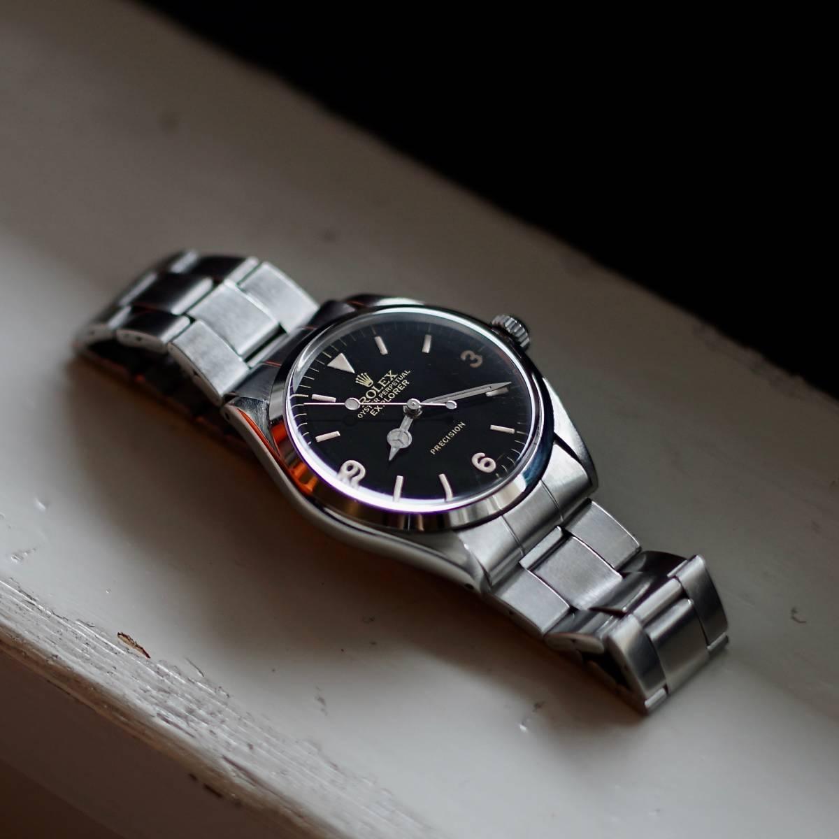 newest 28a6e 3e4bf 代購代標第一品牌- 樂淘letao - 美品OH済Rolex 5500 Explorer ...