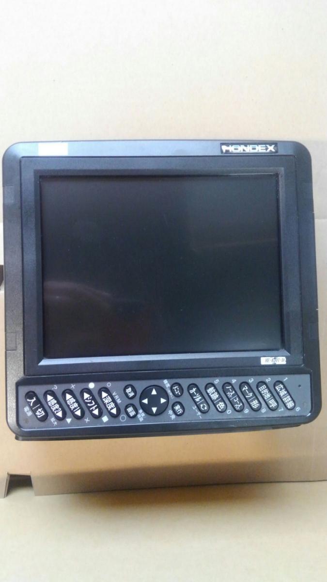 ホンデックスHE-8301-Di 8.4型 GPS内蔵魚群探知機 _画像2