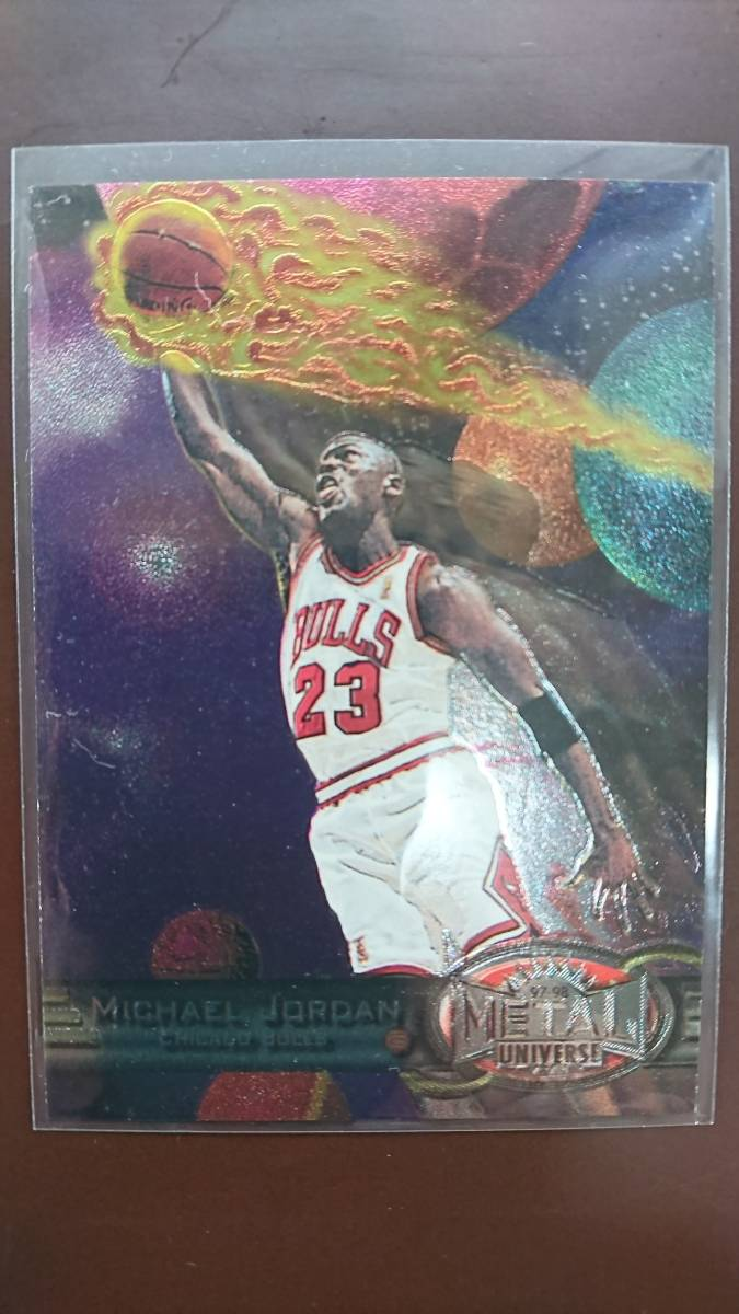 97-98 Metal Universe Michael Jordan