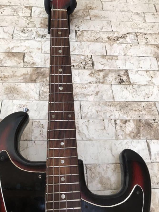'1960~70年代 /貴重 ジャパンヴィンテージ ビザールギター PLEASANT(プリザント) 希少なビザールギター/レア!_画像4