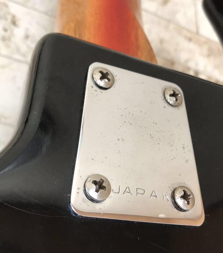 '1960~70年代 /貴重 ジャパンヴィンテージ ビザールギター PLEASANT(プリザント) 希少なビザールギター/レア!_画像9