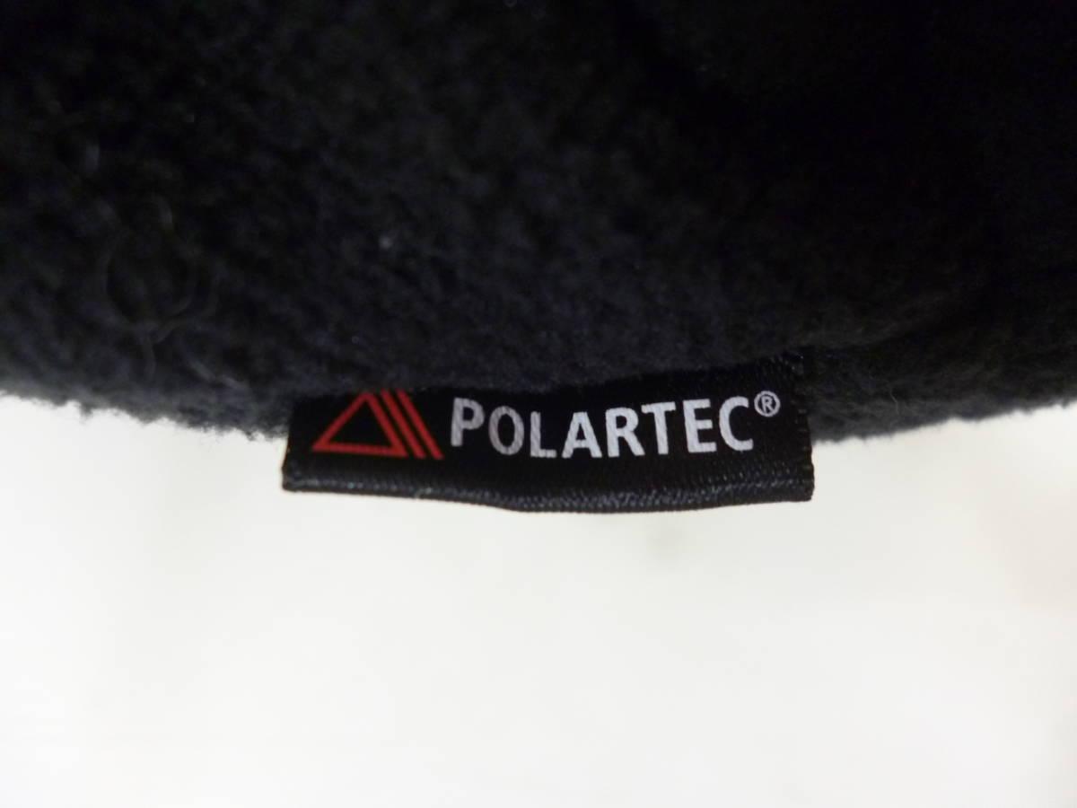 ☆シュプリーム SUPREME Polartec Harrington Jacket スモールロゴ フリースジャケット 黒L_画像5