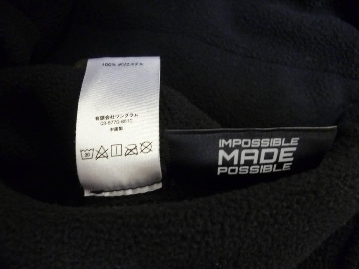 ☆シュプリーム SUPREME Polartec Harrington Jacket スモールロゴ フリースジャケット 黒L_画像8