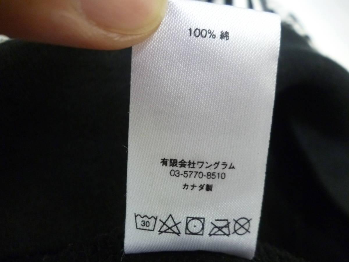 ☆シュプリームxヒステリックグラマー Supreme×HYSTERIC GLAMOUR Text Hooded Sweatshirt パーカー 黒L _画像6