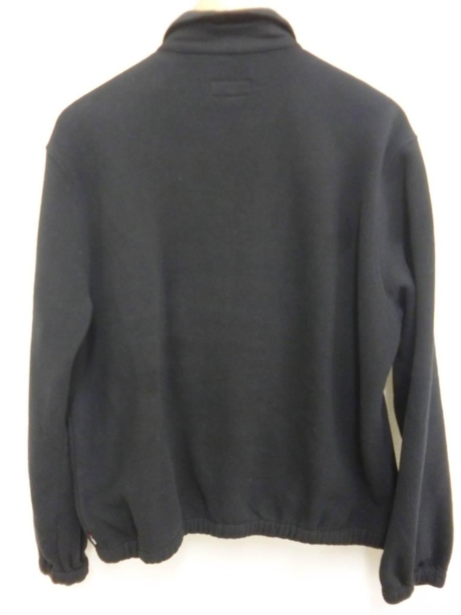 ☆シュプリーム SUPREME Polartec Harrington Jacket スモールロゴ フリースジャケット 黒L_画像4
